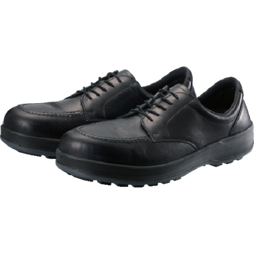 シモン 耐滑・軽量3層底静電紳士靴BS11黒静電靴 27.0cm BS11S-270