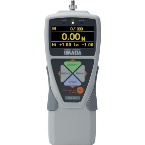【直送品】イマダ 標準型デジタルフォースゲージ 使用最大荷重500N ZTS-500N