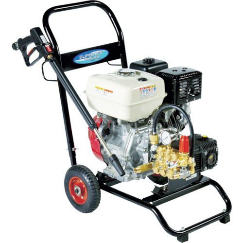 【直送品】スーパー工業 エンジン式高圧洗浄機SEC-1520-2N SEC-1520-2N