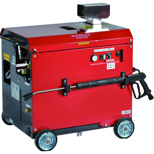 【直送品】スーパー工業 モーター式高圧洗浄機SAR-1120VN-1-60HZ(温水) SAR-1120VN-1-60HZ