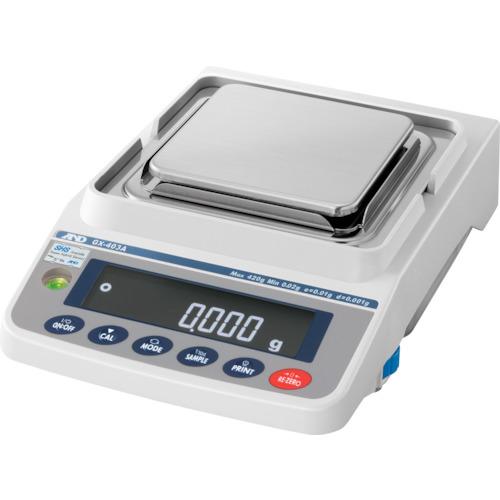 【直送品】A&D 汎用電子天びん 内蔵分銅付き 420g/0.001g GX403A