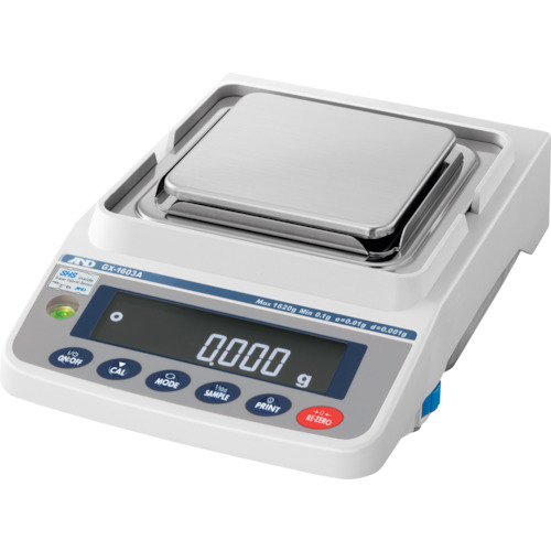 人気が高い 【直送品】A&D KYS 内蔵分銅付き 汎用電子天びん  GX1603A:KanamonoYaSan 1620g/0.001g-DIY・工具