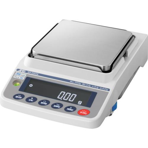 【直送品】A&D 汎用電子天びん 内蔵分銅付き 3200g/0.01g GX3002A