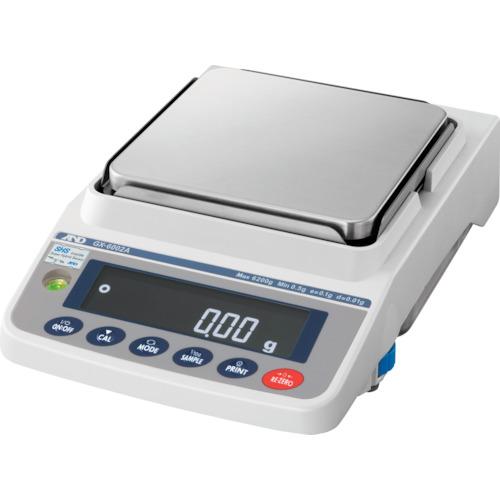 【直送品】A&D 汎用電子天びん 内蔵分銅付き 6200g/0.01g GX6002A