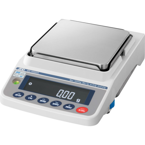 【直送品】A&D 汎用電子天びん 内蔵分銅付き 10200g/0.01g GX10002A