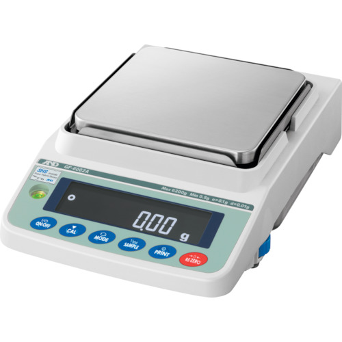 【直送品】A&D 汎用電子天びん 6200g/0.01g GF6002A