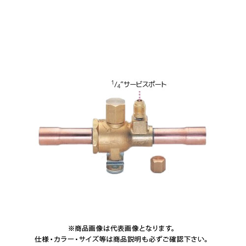 TASCO タスコ R404A、R407C用ボールバルブ(アクセスポート付)7/8