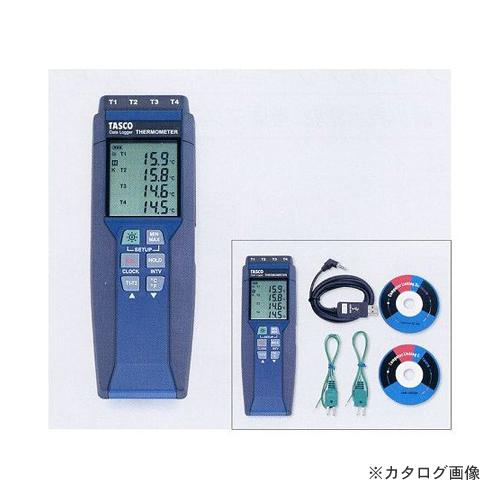 タスコ TASCO TA410WC 4ch デジタル温度計