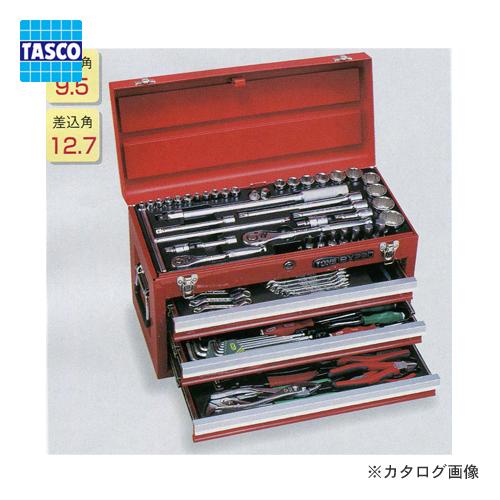 タスコ TASCO TA710BR ツールセット (オートメカニック・メンテナンス用) 全86点
