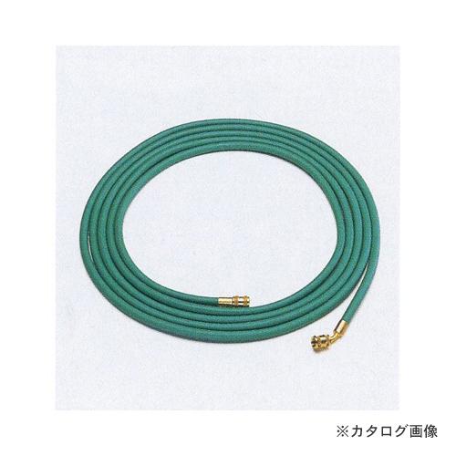 タスコ TASCO TA136E 1/4ロングチャージホース (10m) 7/16-S=7/16-45