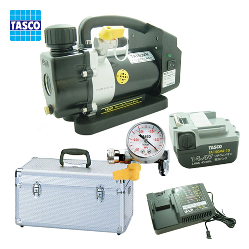 废物 tasco TASCO 超迷你可充电真空泵真空计 TA150MRS