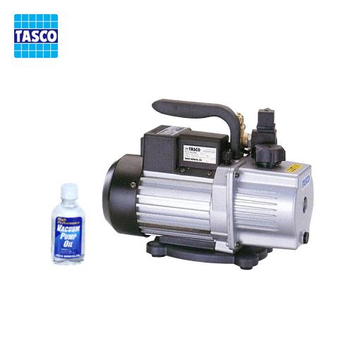 タスコ TASCO オイル逆流防止機能付高性能ツーステージ真空ポンプ TA150RC