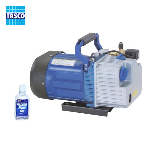 タスコ TASCO TA150YB オイル逆流防止弁付ツーステージ真空ポンプ