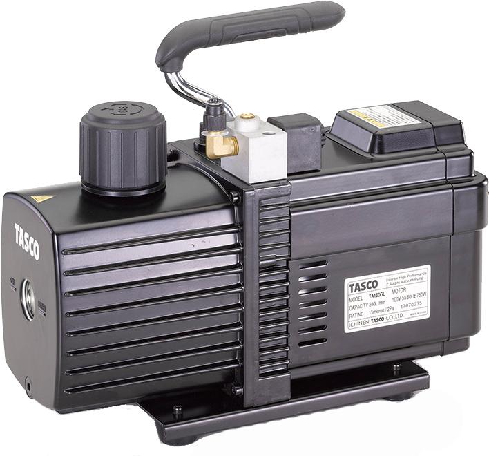 タスコ TASCO TA150GL-B インバーター式真空ポンプ ケース付(TA150ES)