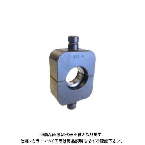泉精器 IZUMI 充電式圧縮工具 圧縮 ダイス T-240 365系 40φ10 (T112103310-000)