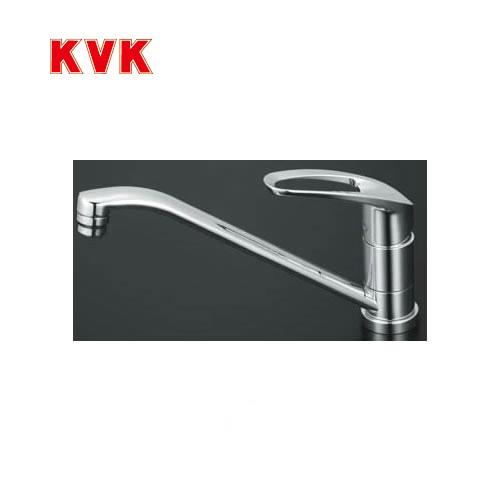 KM5011T KVK キッチン水栓 キッチン用水栓 シングルレバー式混合栓 リングハンドル ハンドル上面キャップレス 供え キッチン用 混合水栓 水栓 蛇口 送料無料 台所 ワンホールタイプ キッチン水栓金具 キッチン おしゃれ 数量は多