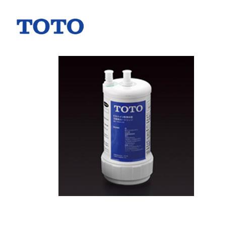 [TH634-2]TOTO カートリッジ 浄水カートリッジ(交換用) ろ材の種類:活性炭・不織布・中空糸膜 13物質除去 ビルトイン形用