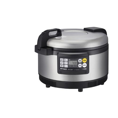 [JIW-G361-XS] タイガー 業務用厨房機器 炊きたて 業務用IH炊飯ジャー 200V専用 2升炊き 2層遠赤釜 IH加熱 業務用炊飯器 ステンレス 【送料無料】
