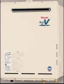 【送料無料】 リンナイ ガスふろ給湯器 ガス給湯器 16号 フルオート 追い炊き付 屋外壁掛 PS設置型 20A 【リモコン別売】[RUF-A1600AW(A)] 価格 給湯器【フルオート】
