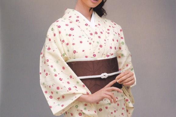 源氏小紋【14】 ウールの着物