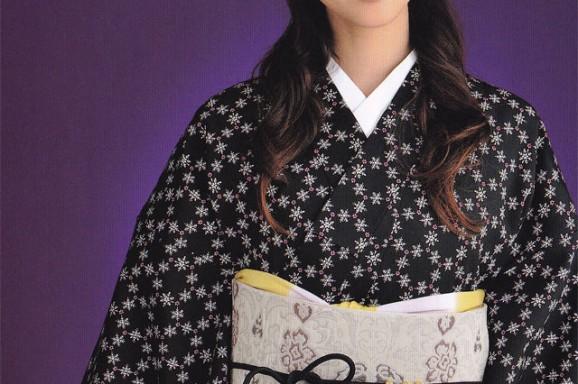 源氏小紋【36】 ウールの着物