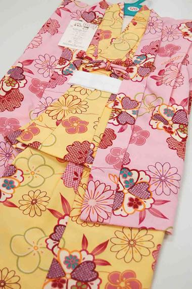 ニューアンサンブル01 着物と羽織セット(7~8歳用)newensemble781