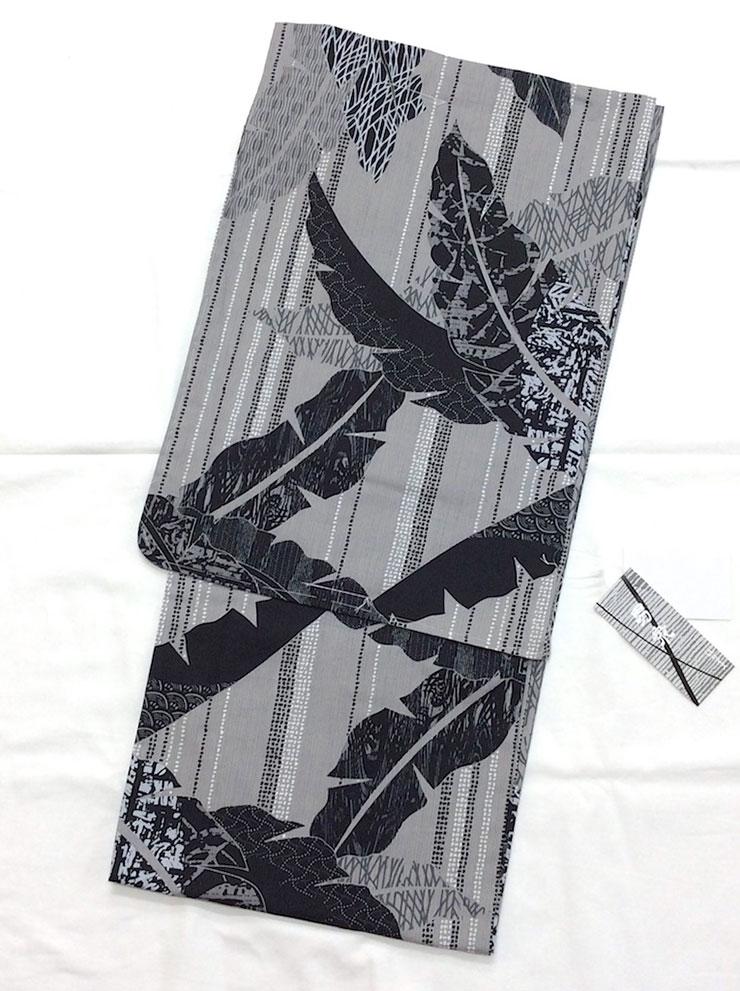 仕立上がりメンズ浴衣 すぐに来て出かけられます マート シンプルで粋なデザインがオトコの魅力を引き出します 男衆 190520-4 販売実績No.1 男物浴衣 LLサイズ 仕立て上がり