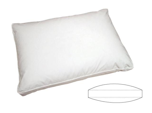 ダウンピロー(羽毛枕)【サイドスリーパー】横向きで練る時が多い方におすすめ♪ Lサイズ 50×70cm