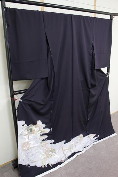 京友禅 色留袖 106-f6382