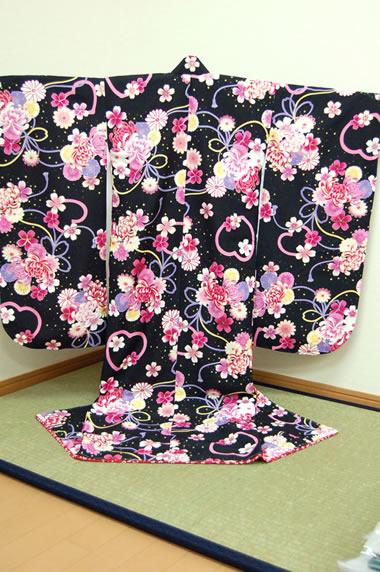 四つ身着物 66 【Kimono cafe】