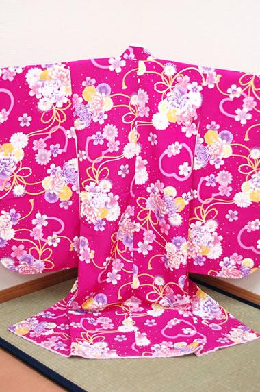 四つ身着物 67 【Kimono cafe】