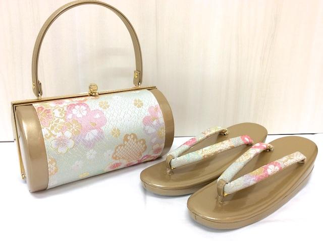 草履バッグセット L 桜 335568