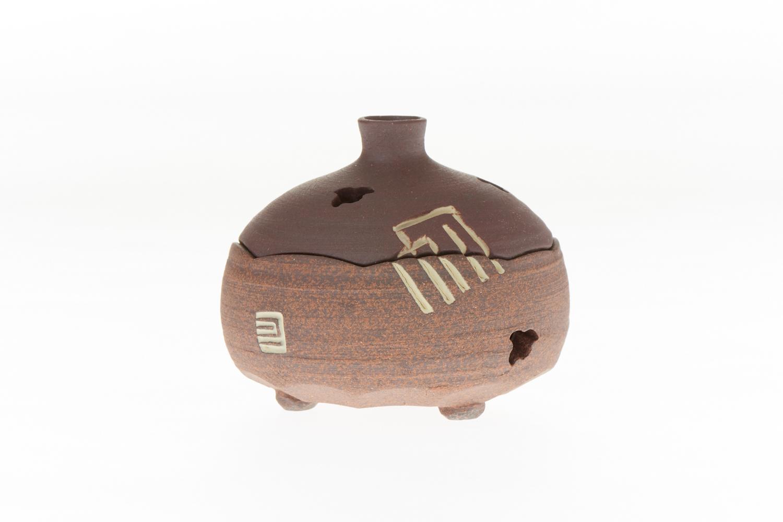 鳩居堂 香道具 お金を節約 香炉 香の図 即納最大半額