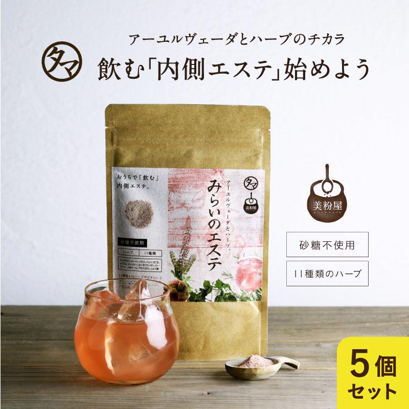 【送料無料】美粉屋みらいのエステ5袋セット(約5か月分)