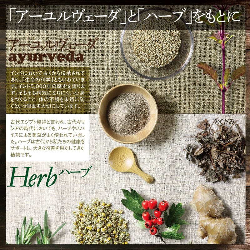 Mirai's Estado link fused Este Ayurvedic herbal tradition culture totally new form born from Este food shop to drink a day to heal and cleanse body flow over mind and body