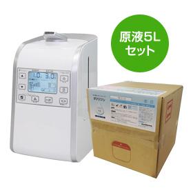 【ラッキーシール対応】超音波噴霧器 HM-201 ジアリフレ専用 原液5Lセット