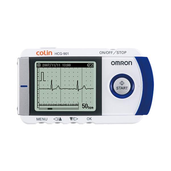 オムロン携帯型心電計HCG-901(心電計)☆