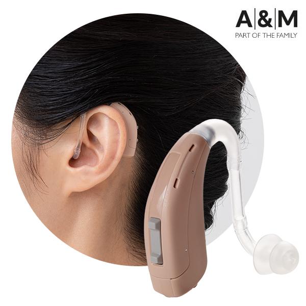 補聴器 A&M 耳かけ型 XT-MPA4-LR