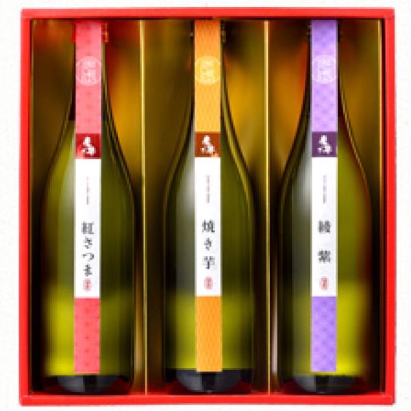 【大感謝祭 ポイント20倍】【送料無料】芋焼酎3種飲み比べセット【SC-V】