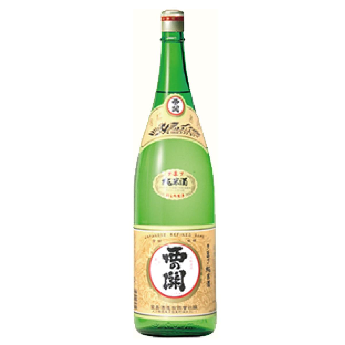 西の関 手造り純米酒 15度以上16度未満 1800ml