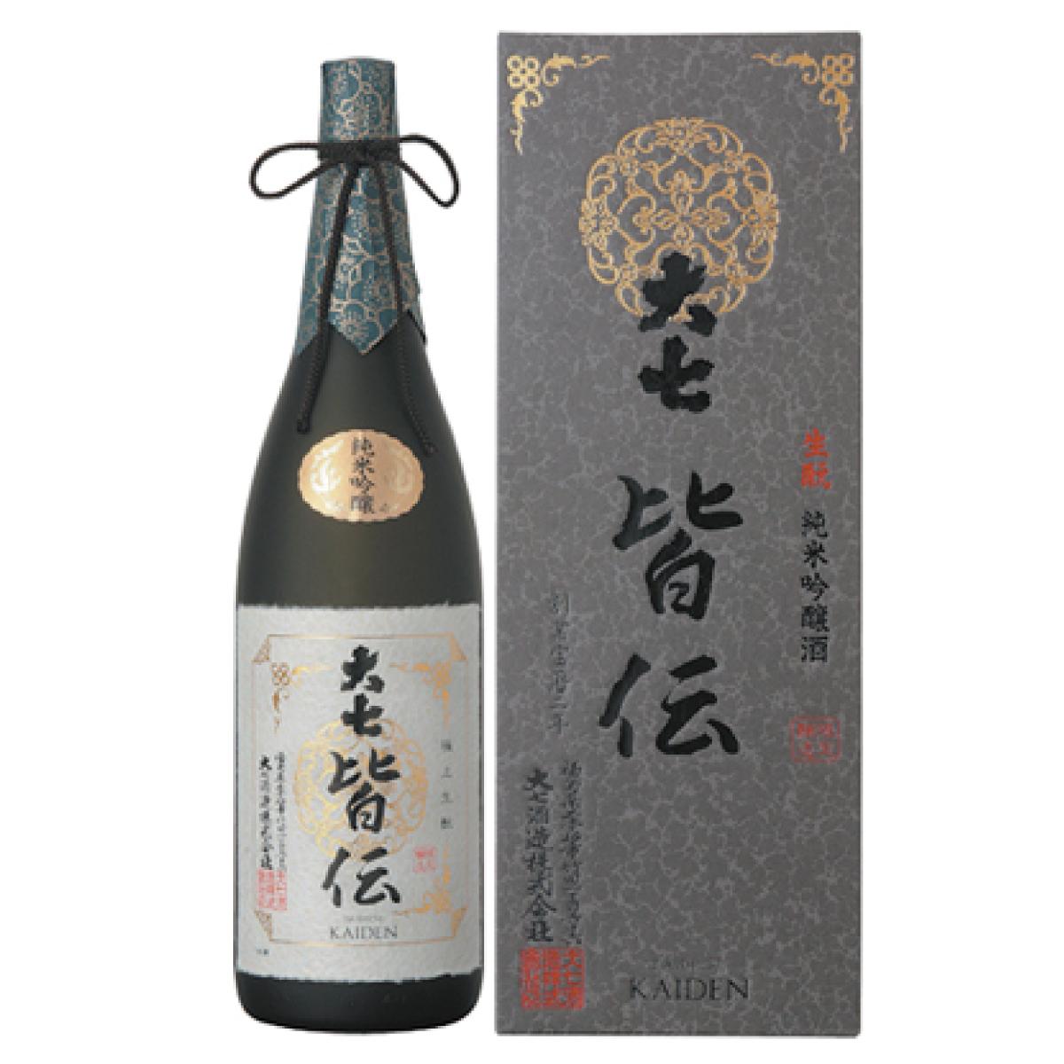 大七 皆伝 1800ml 【かいでん】 純米吟醸