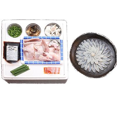 豊後とらふぐ料理セット【養殖2~3人前】【フグ】【河豚】【送料無料】【代引き不可】