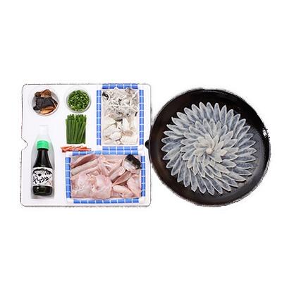 豊後とらふぐ料理セット【養殖4~5人前】【フグ】【河豚】【送料無料】【代引き不可】