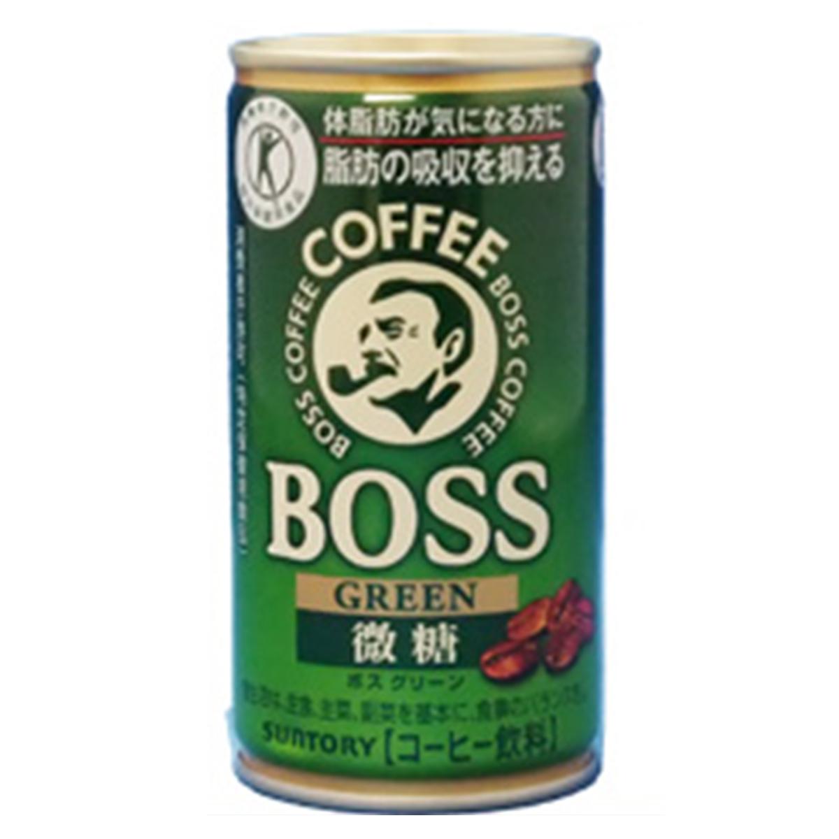 サントリーBOSSボスグリーン30缶【3ケース】【まとめ買い】【特定保健用食品】