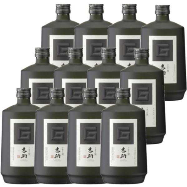 芋麹焼酎 吉助〈黒〉25度720ml瓶1ケース(12本)