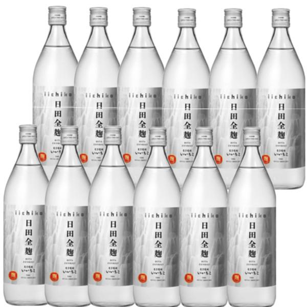 本格麦焼酎 いいちこ日田全麹25度900ml瓶1ケース(12本)