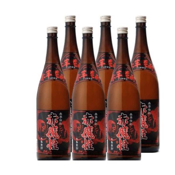本格芋焼酎 赤魔性25度1800ml瓶1ケース(6本)