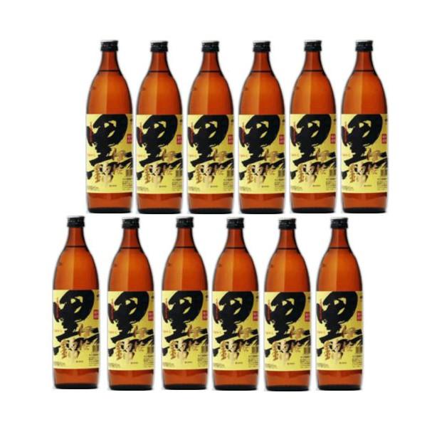 本格芋焼酎 黒伊佐錦(黒麹)25度900ml瓶1ケース(12本)