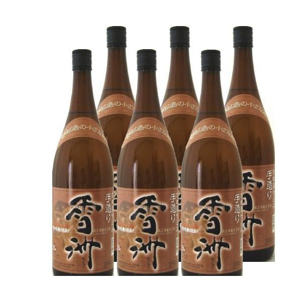 壱岐麦焼酎 雪洲25度1800ml瓶1ケース(6本)