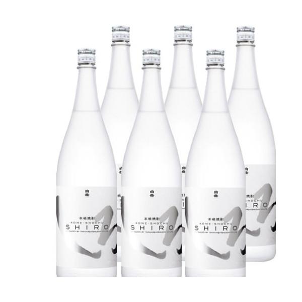 純米焼酎 白岳しろ25度1800ml瓶1ケース(6本)